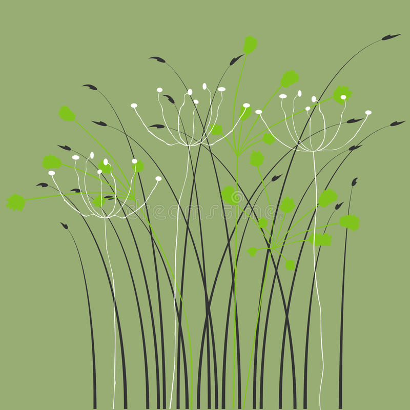 Download Floral Background, Ornament, Leaves And Flowers Stock Vector - Image: 14811364