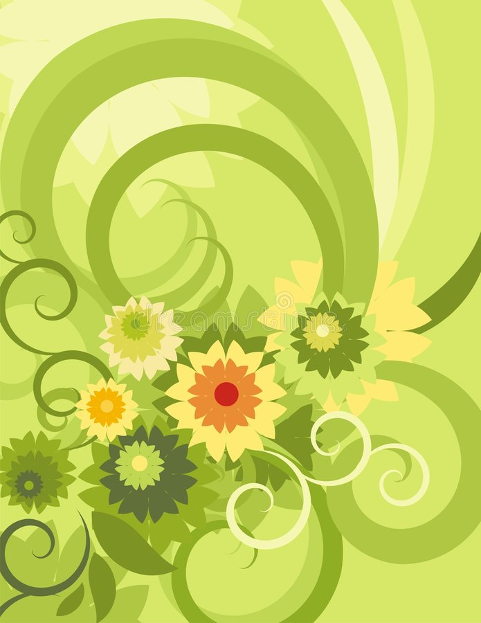 Free Floral Background Series Royalty Free Stock Photography - 1049617