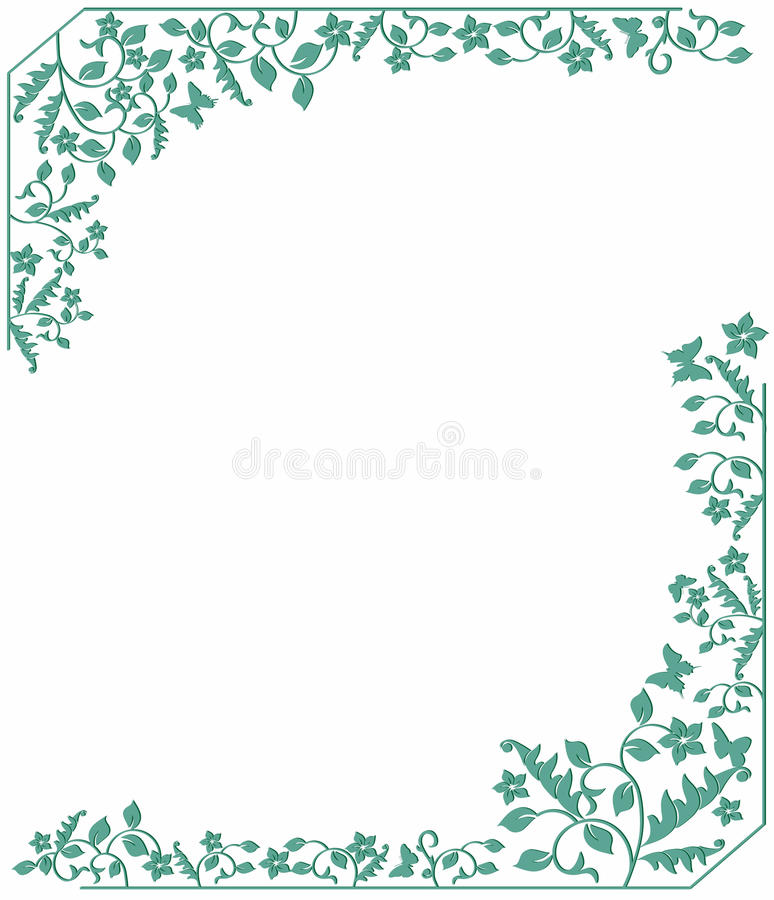 Floral Background Stock Vector
