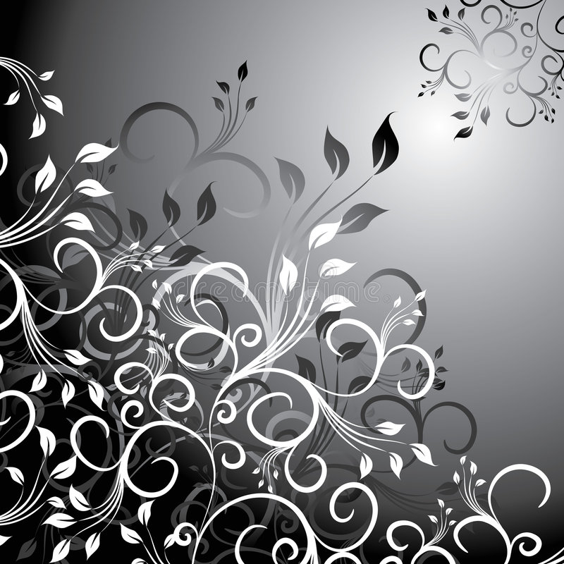 Floral background, vector royalty free stock photography