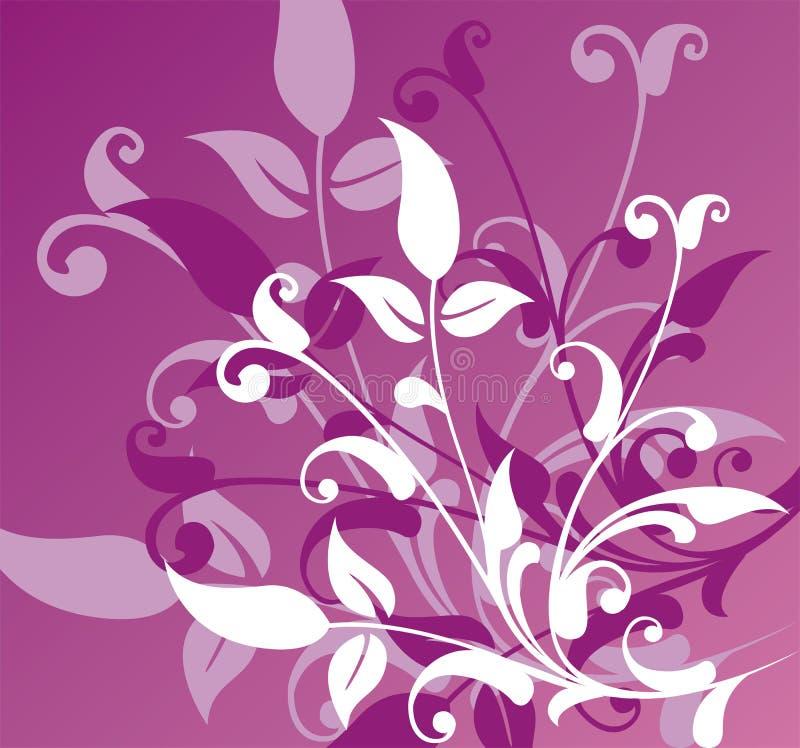 Floral background, vector royalty free illustration
