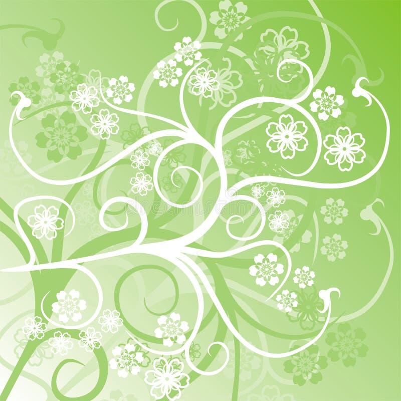 Floral background,vector royalty free illustration
