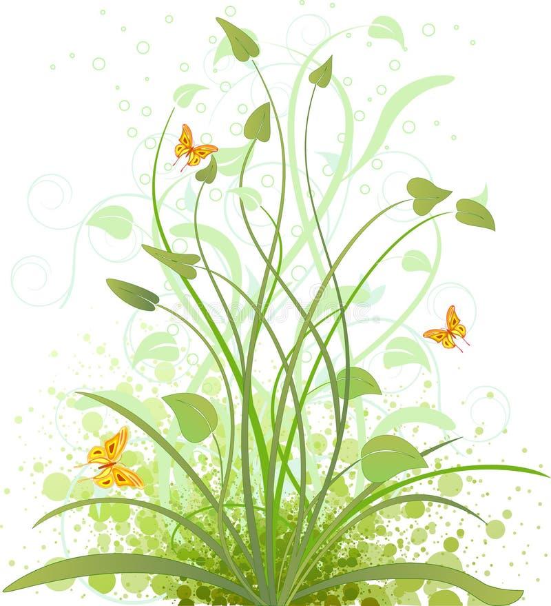 Floral background vector design vector illustration