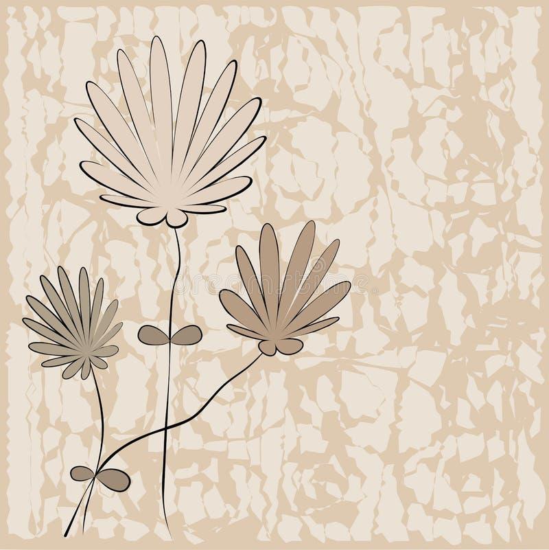 Download Floral Background - Vector Illustration Stock Vector - Illustration of image, black: 24507463