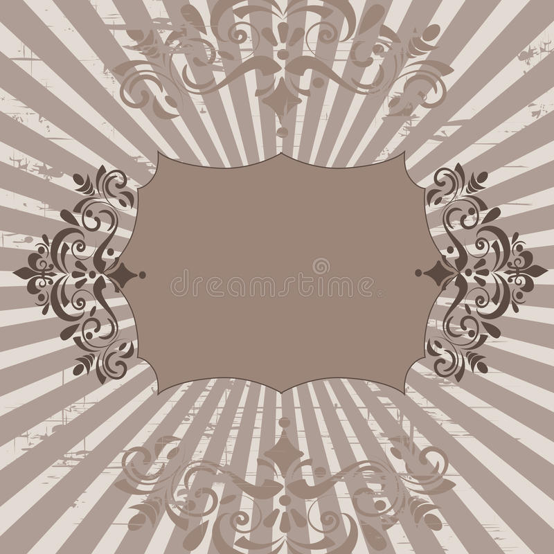 Download Floral banner stock vector. Illustration of club, clean - 9399665