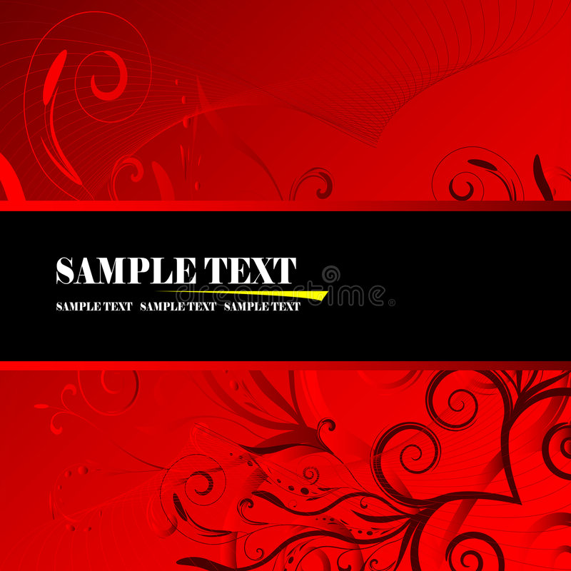 Download Floral Banner Vector Stock Photo - Image: 6912210