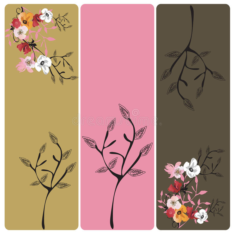 Download Floral banners stock vector. Image of decorative, design - 11324122