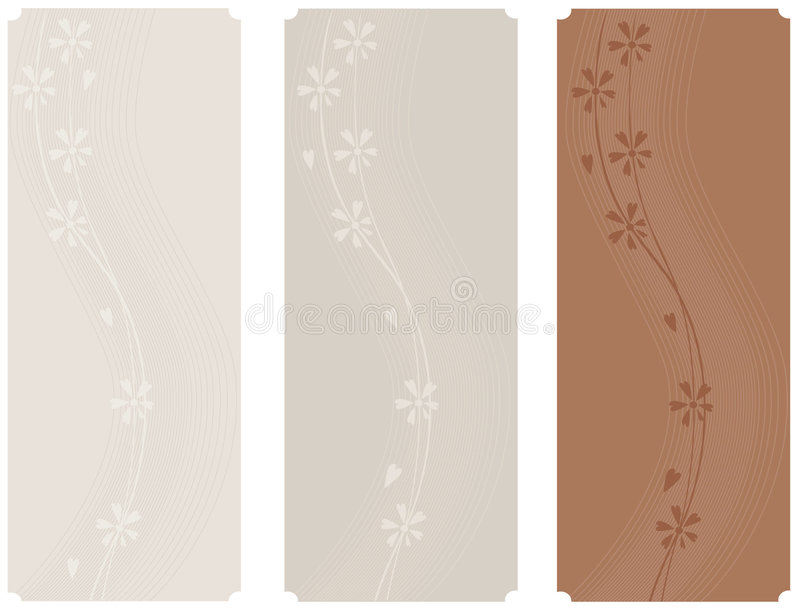 Download Floral banners stock vector. Image of modern, natural - 7654529