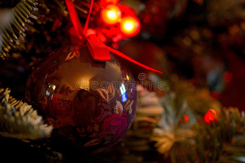 Floral Bauble royalty free stock images