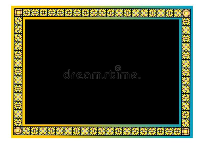 Download Floral border stock vector. Illustration of curl, illustration - 10065951