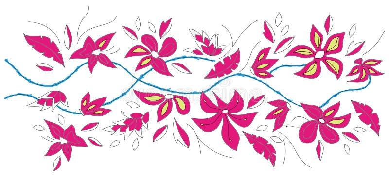 Download Floral botany  fashion stock illustration. Image of nature - 11496163