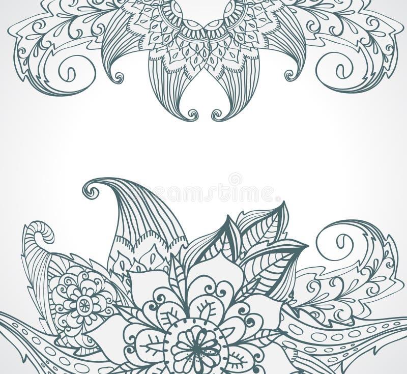Download Floral Bright  Doodle Illustration Stock Illustration - Illustration: 28216009