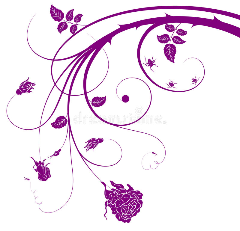 Download Floral chaos stock vector. Illustration of silhouette - 2298263