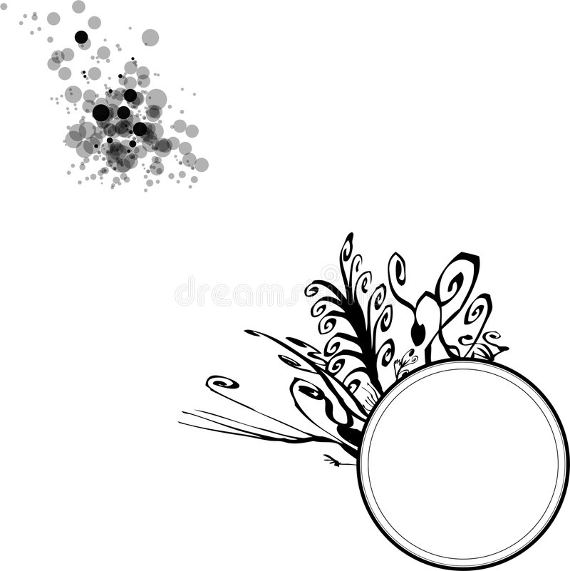 Download Floral Circle Blobs stock vector. Illustration of direction - 6757857
