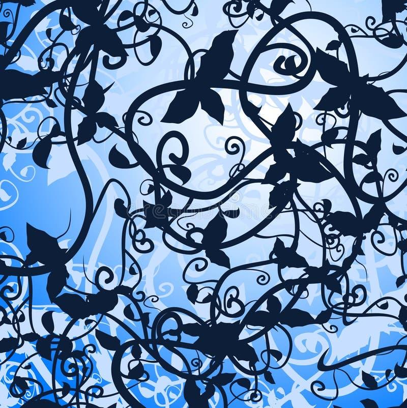 Floral creativo ilustração stock