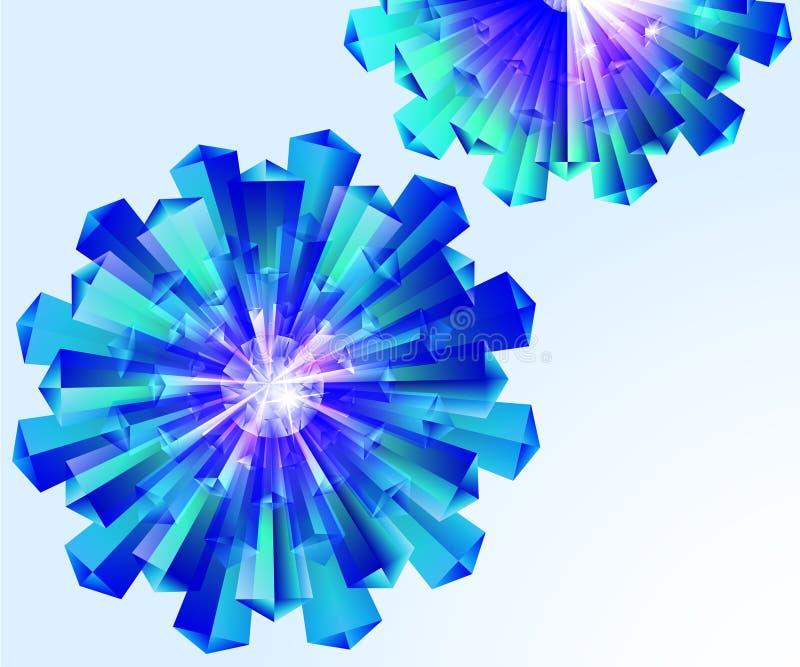 Download Sumário, cristal, floral. ilustração do vetor. Ilustração de adamant - 29842659