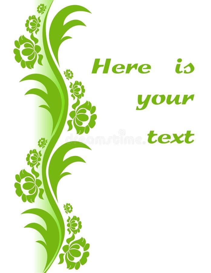 Download Floral decor. stock vector. Image of baroque, invitation - 13548930