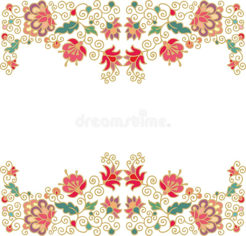 Download Floral decor stock illustration. Image of design, daisy - 28629280