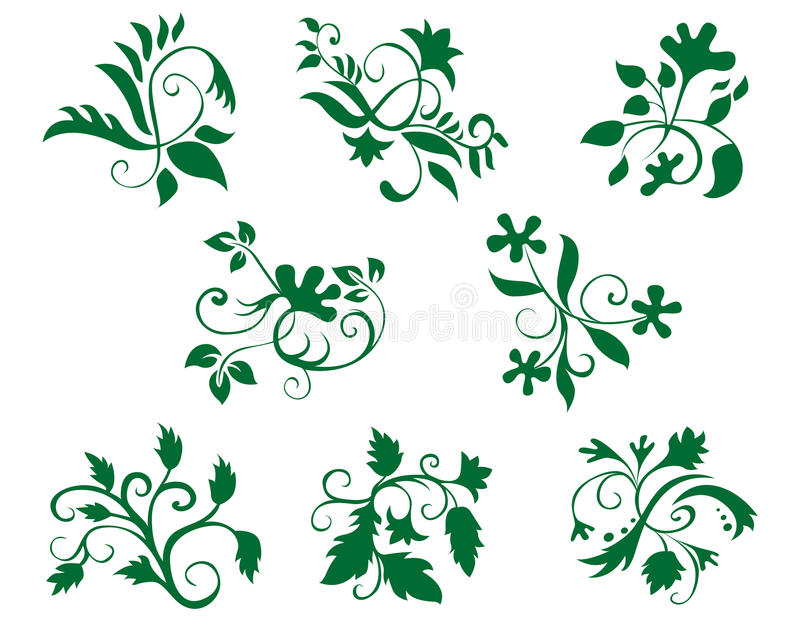 Floral Decorations Stock Images