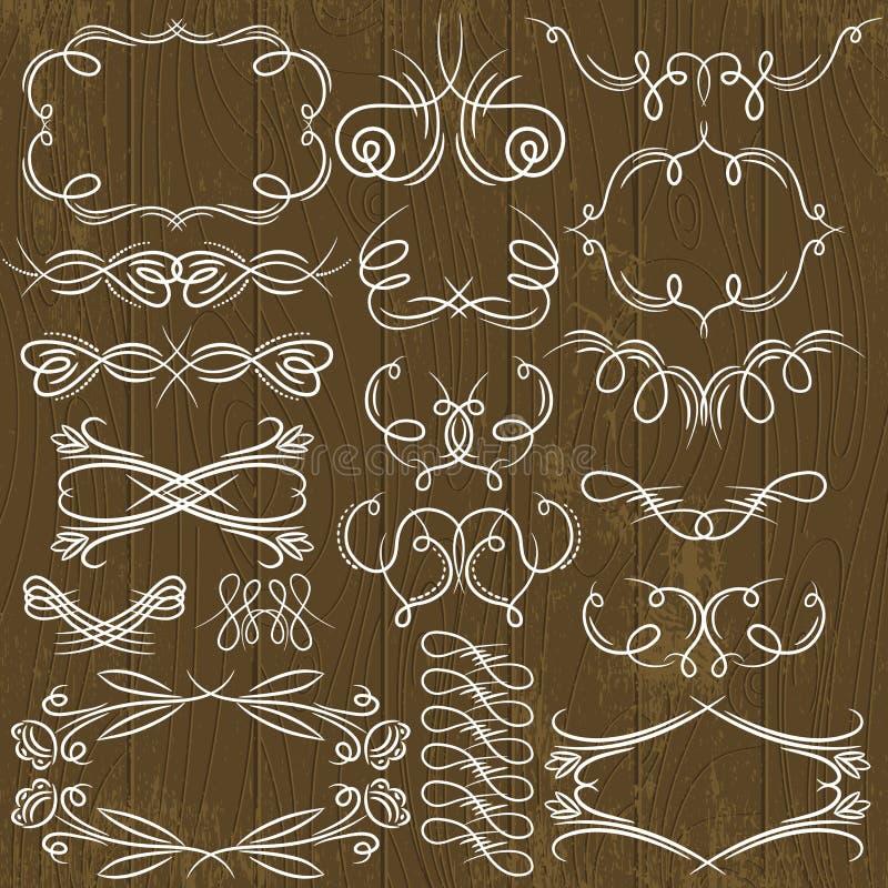 Download Floral Decorative Borders, Ornamental Rules, Divid Stock Vector - Illustration of border, banner: 39501479