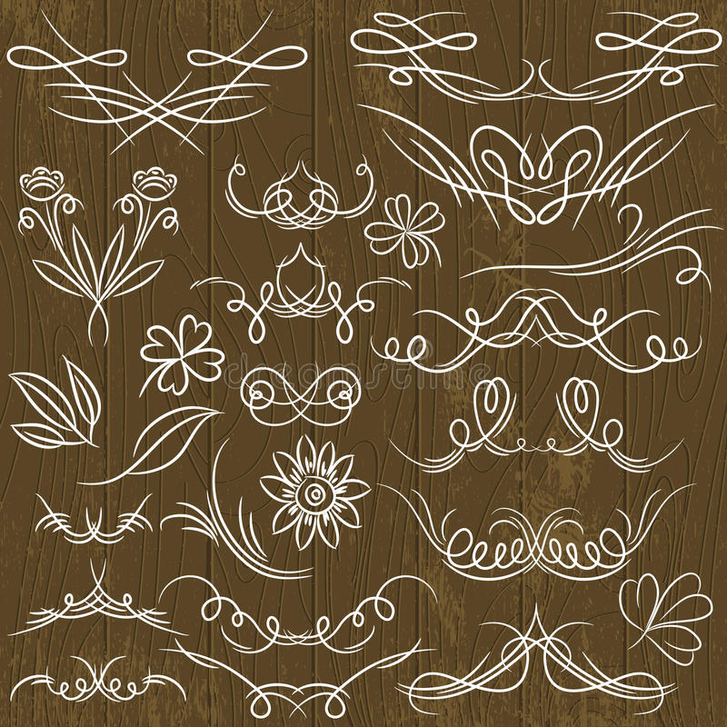 Download Floral Decorative Borders, Ornamental Rules, Divid Stock Vector - Illustration of drawing, frame: 39501489