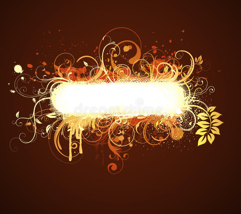 Download Floral Decorative frame stock vector. Illustration of bright - 11290162