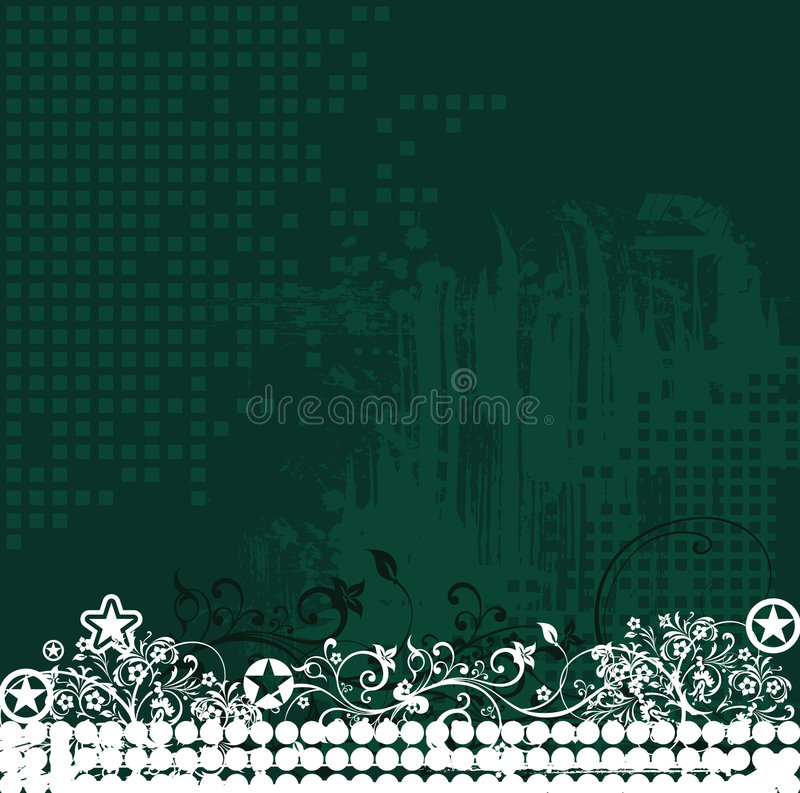 Floral Design 10 (vector) Stock Photography