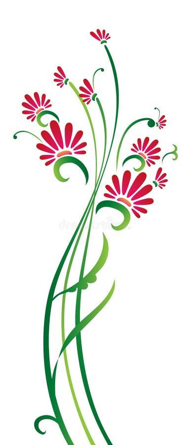 Floral design stock image