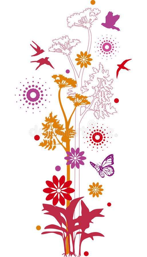 Download Floral design stock vector. Image of flora, decor, clip - 5644734