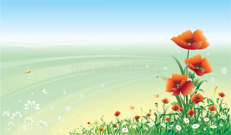 Floral design royalty free stock image
