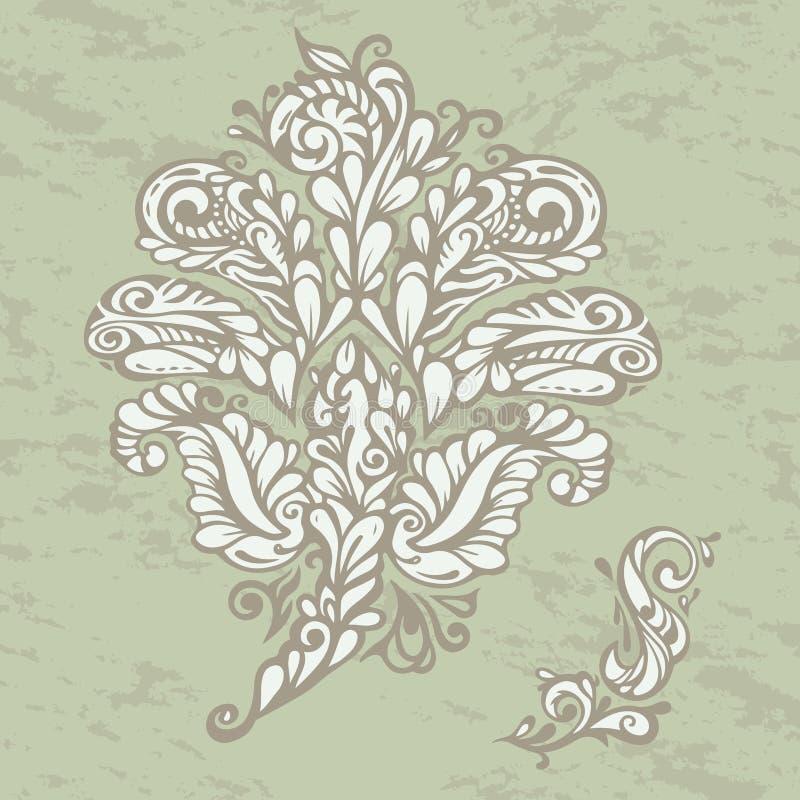 Download Floral Design Element Renaissance Style Stock Illustration - Image: 25560366