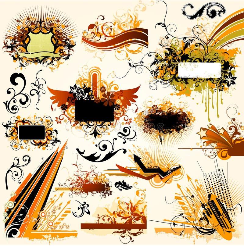 Free Floral Design Elements Stock Images - 4949804