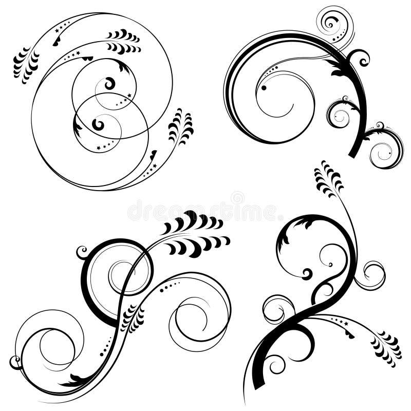 Download Floral design elements stock vector. Image of ornament - 8506693