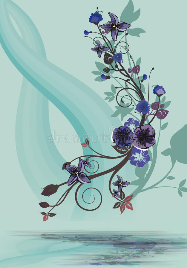 Free Floral Designs Royalty Free Stock Photography - 24801507