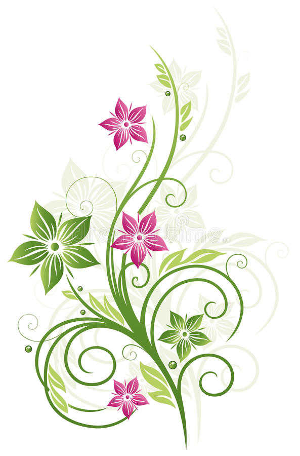 Download Floral element stock photo. Image of flourishes, flower - 34183378