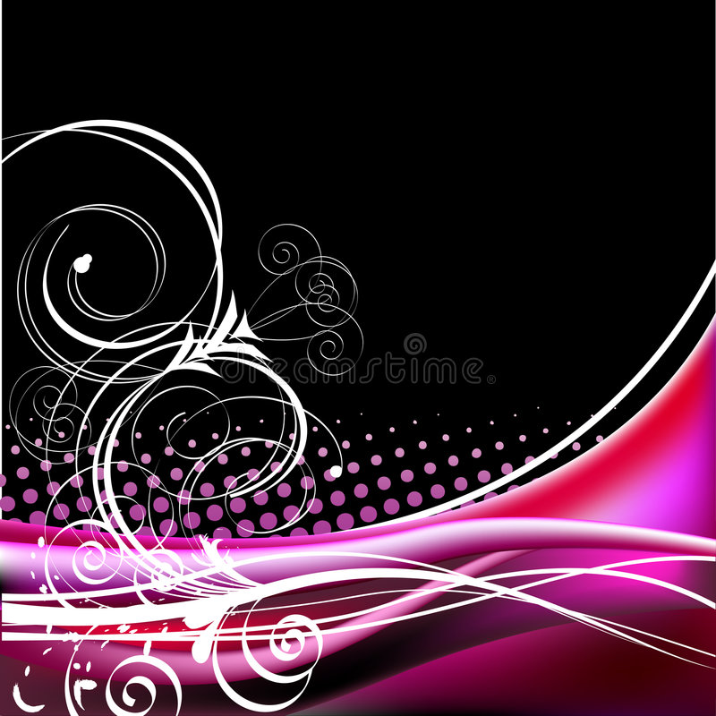 Floral elements - vector royalty free stock photo