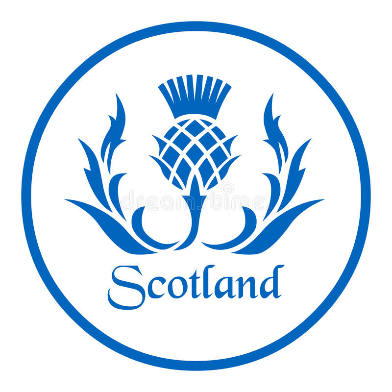 Free Floral Emblem Of Scotland, The Thistle Royalty Free Stock Photo - 92632745
