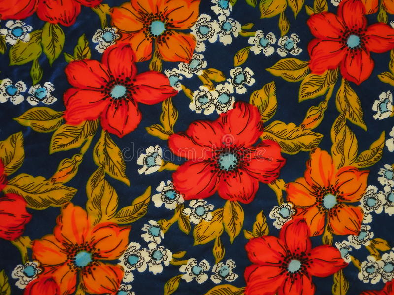 Download Floral fabric stock photo. Image of flower, nature, leaf - 13457078