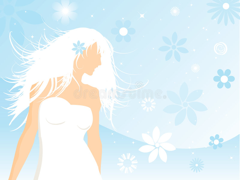 Download Floral Female Royalty Free Stock Photography - Image: 2316767