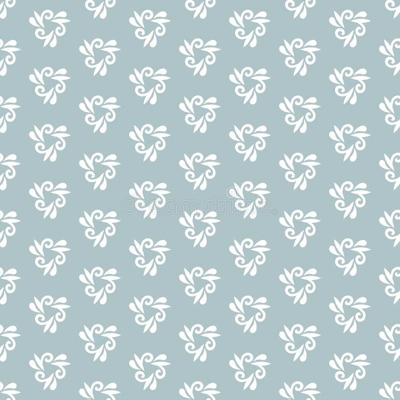 Floral Fine Seamless Vector Pattern royalty free illustration