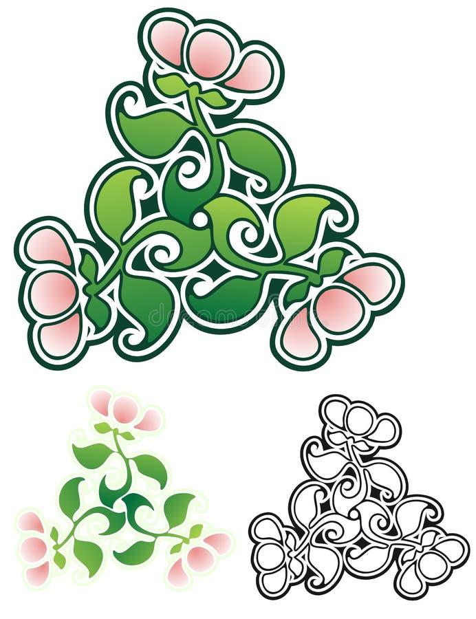 Floral Flourish royalty free stock photo
