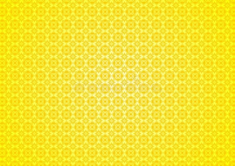 Download Yellow Floral Vintage Oriental Ornamental Chinese Arabic Islamic  Imlek Ramadan Festival Pattern Texture Background Wallpaper