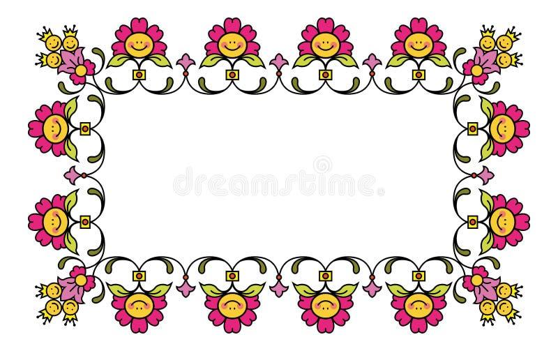 Download Floral frame 1 stock vector. Image of bloom, cartoon - 23724824