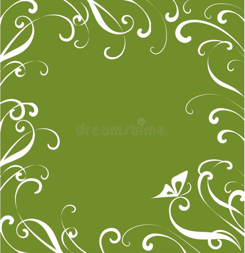 Download Floral frame stock vector. Illustration of back, butterfly - 10171712