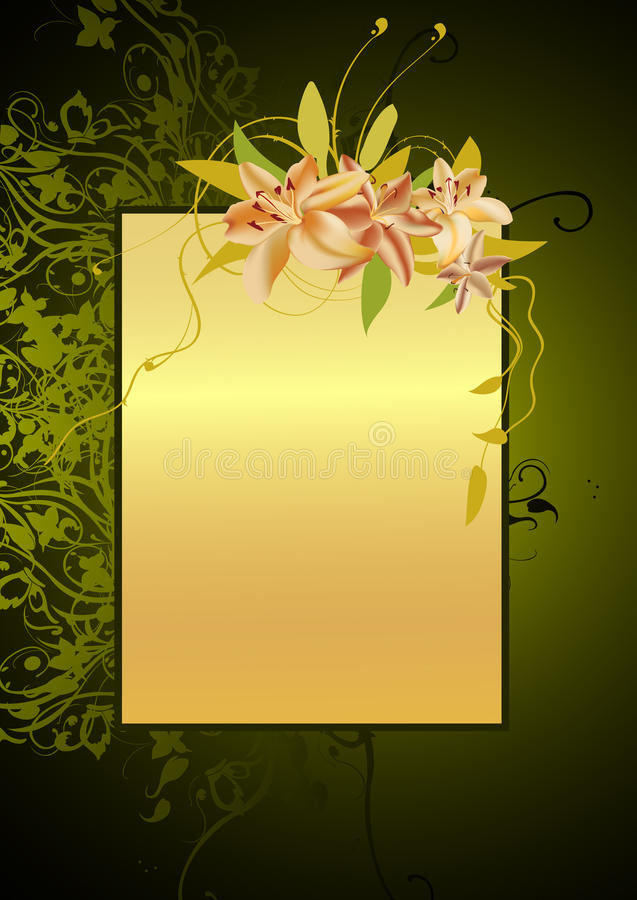 Free Floral Frame Royalty Free Stock Images - 10252559