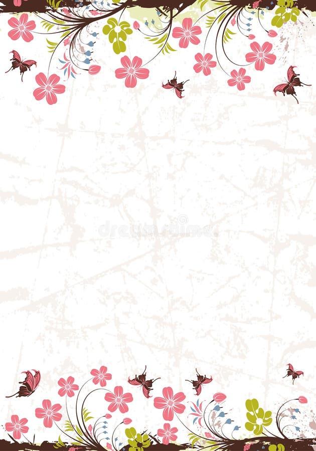 Download Floral frame stock vector. Image of floral, flourishes - 15616080