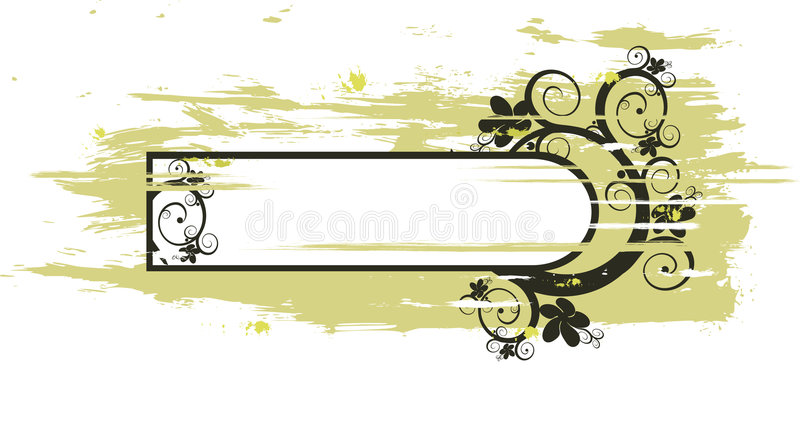 Download Floral frame stock vector. Image of organic, flourishes - 1719031