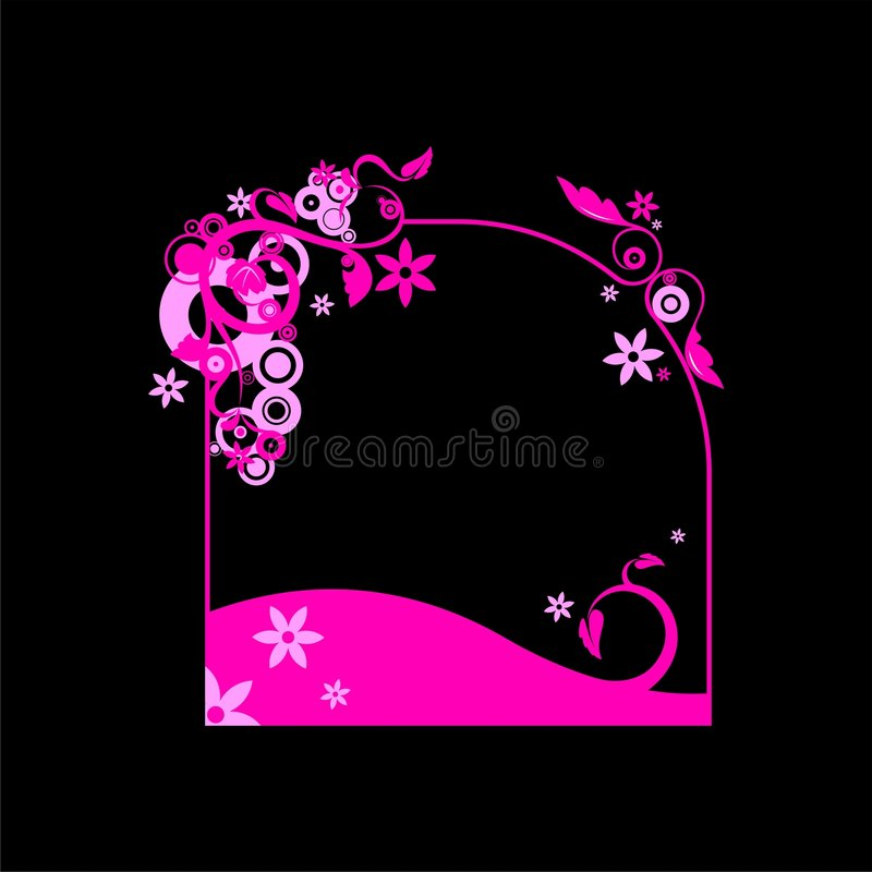 Download Floral Frame Stock Images - Image: 2324934