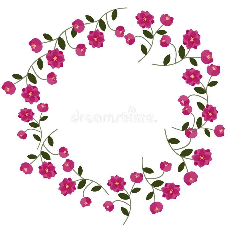 Download Floral frame stock vector. Image of bloom, leaf, floral - 24761435