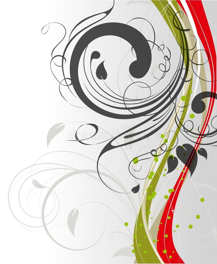 Download Floral frame stock illustration. Image of background - 24833272